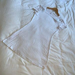 Lightweight Cotton T-Shirt Dress